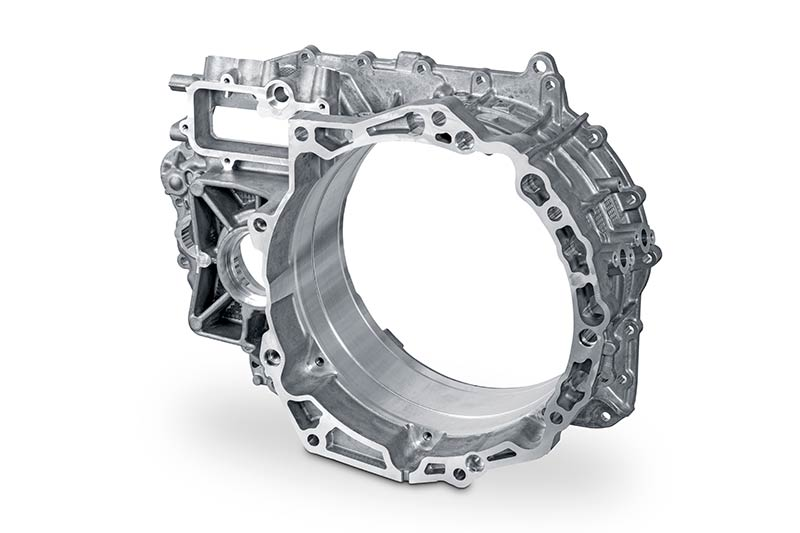 Reference for aluminium die casting in the field of hybrid drives
