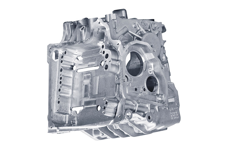 Reference for aluminium die casting – gearbox housing