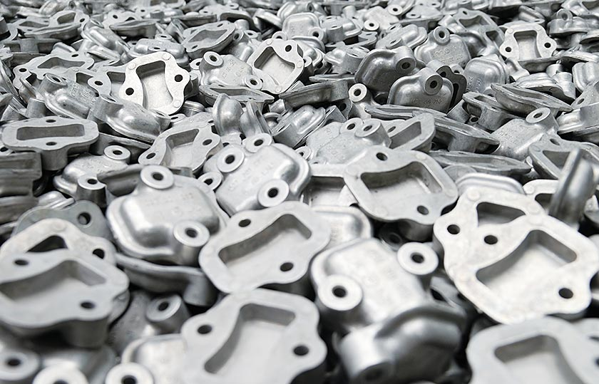 Surface treatment of die castings